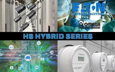 Supercondensatori ibridi HS di Eaton