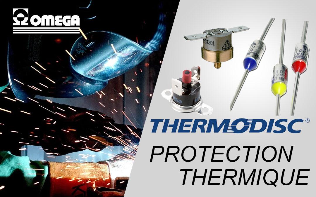 Fusibles thermiques, thermostats, Thermodisc par Emerson protection thermique
